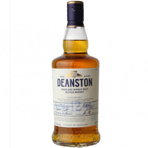 Deanston 12Yr Single Malt Highland Scotch Whisky 750ml