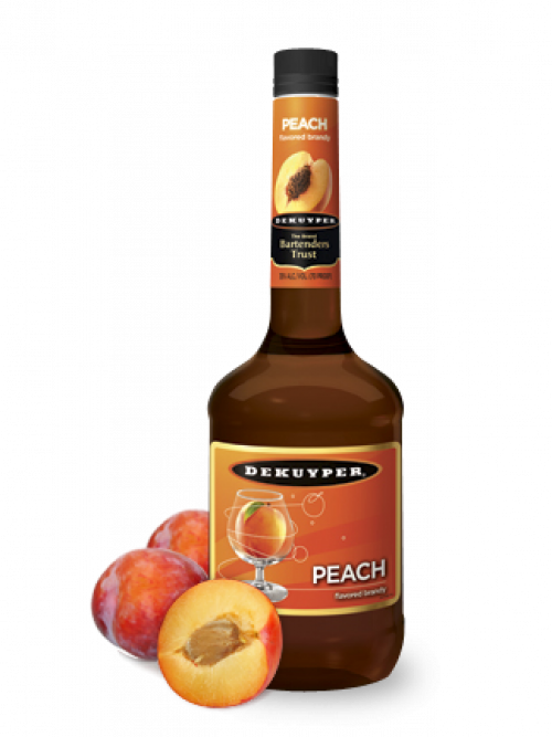 Dekuyper Peach Brandy 1L