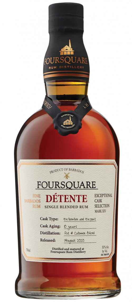 Foursquare Mark XIV Detente Rum 750ml