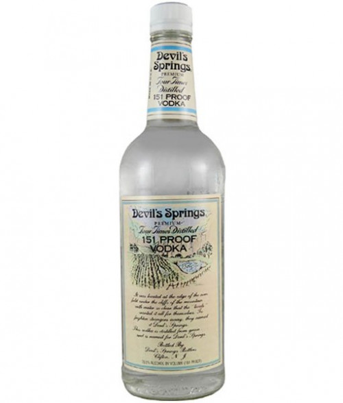 Devil's Springs Vodka 151 Proof 1L