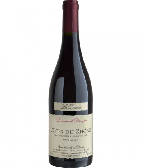 2015 Domaine De Dionysos Cotes Du Rhone Red La Deveze 750Ml