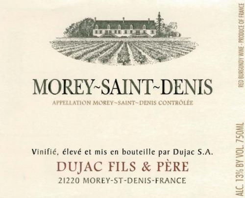 2018 Dujac Fils Morey St.-Denis 750ml