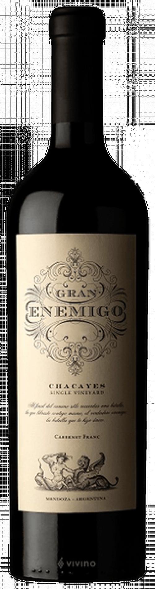 2016 Gran Enemigo Chacayes Single Vineyard Cabernet Franc 750ml