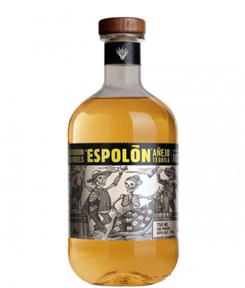 Espolon Bourbon Barrels Anejo Tequila 750ml
