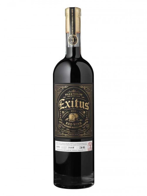 2017 Exitus Bourbon Barrel Red 750ml