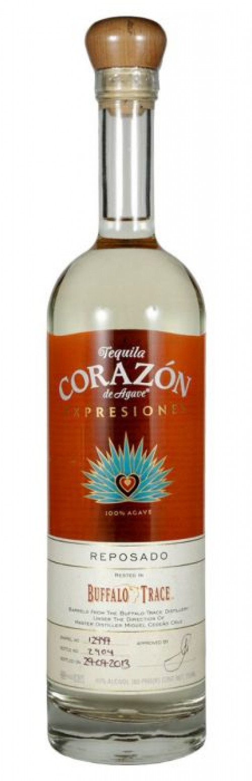 Expresiones del Corazon Buffalo Trace Reposado Tequila 750Ml