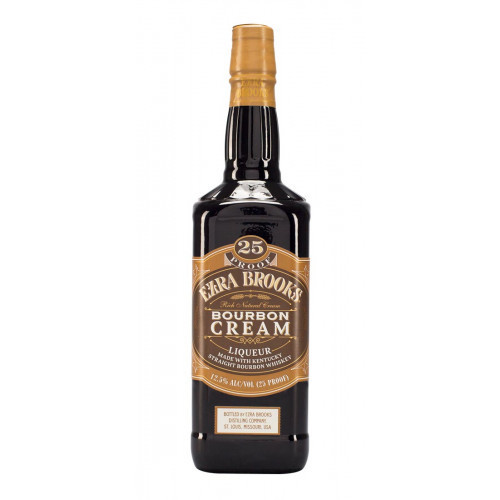 Ezra Brooks Bourbon Cream 750ml