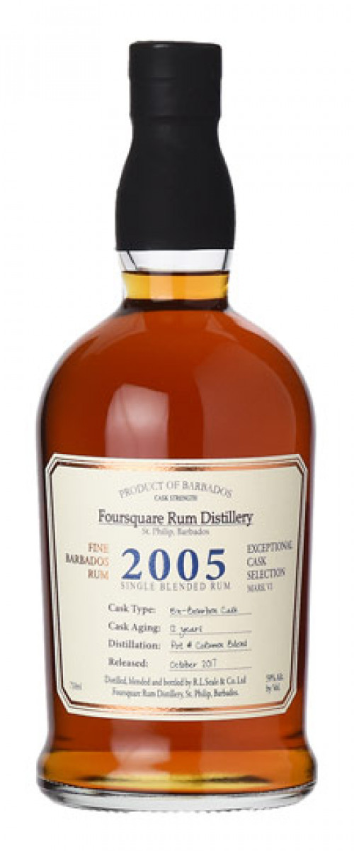 Foursquare 2005 Rum Aged in Ex-Bourbon Casks 750ml