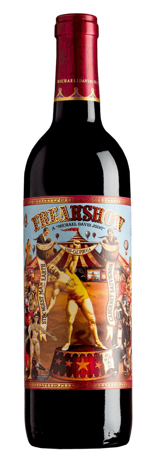 2016 Michael David Freakshow Cabernet Sauvignon 750ml