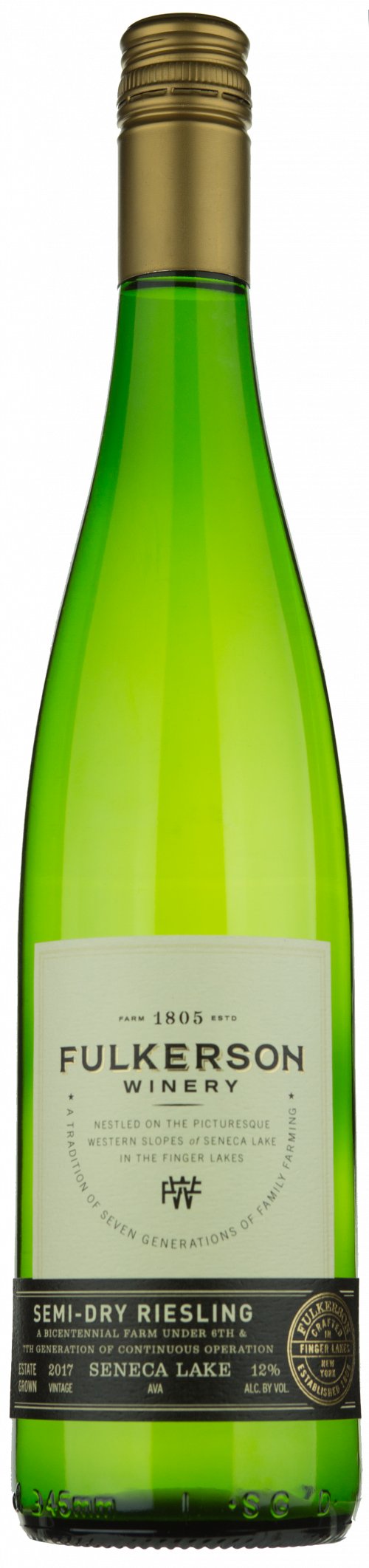 2019 Fulkerson Dry Riesling 750ml
