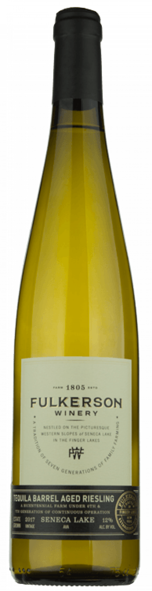 2017 Fulkerson Tequila Barrel Aged Riesling 750ml