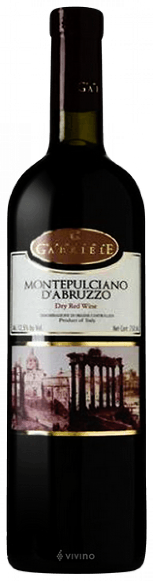 2016 Gabriele Montepulciano 750ml