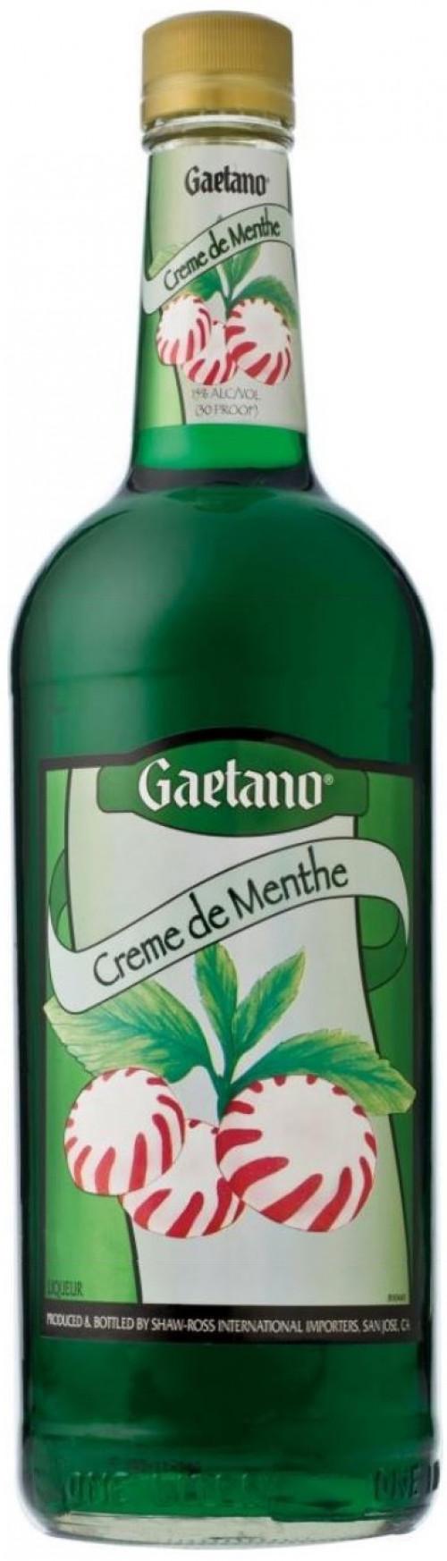 Gaetano Creme De Menthe Green