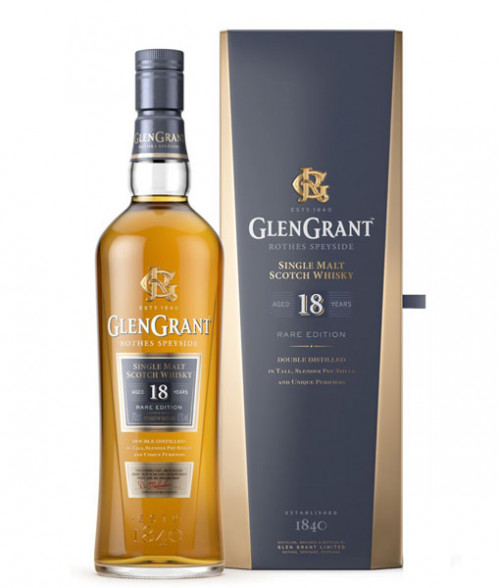 Glen Grant 18Yr Single Malt Scotch 750Ml