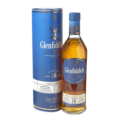Glenfiddich 14Yr Single Malt Scotch 750ml