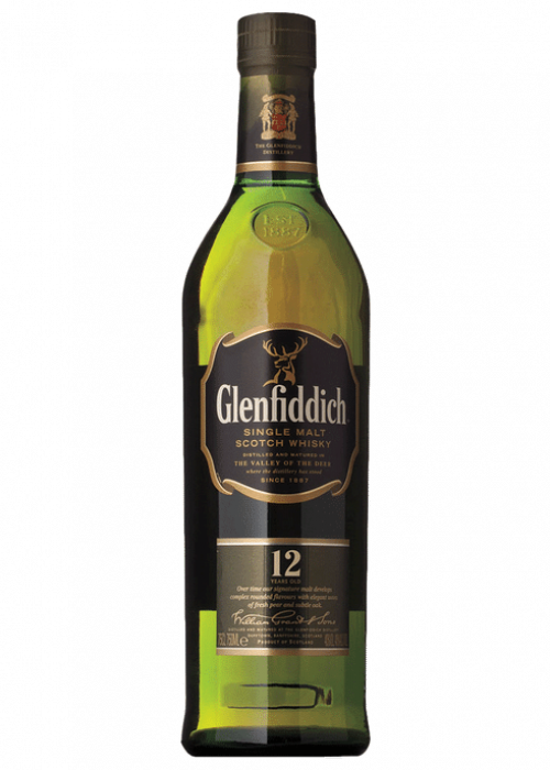 Glenfiddich 12Yr Single Malt Scotch 750Ml