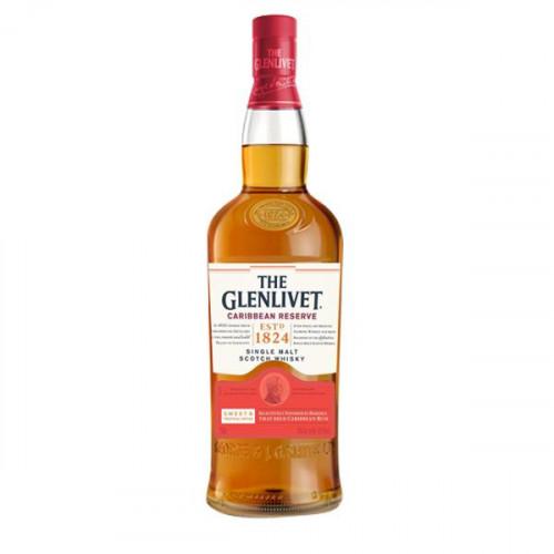 Glenlivet Caribbean Cask Reserve Single Malt Scotch 750ml
