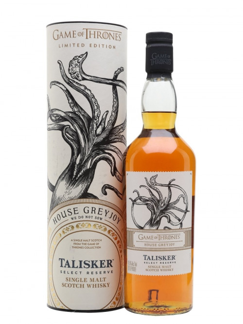 GOT House Greyjoy Talisker Single Malt Scotch 750Ml