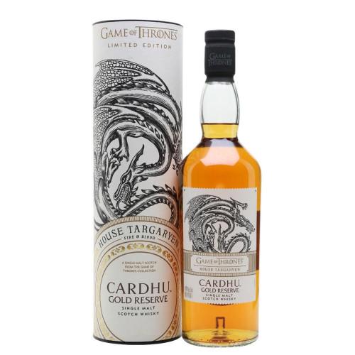 Game of Thrones House Targaryen Cardhu 750ml