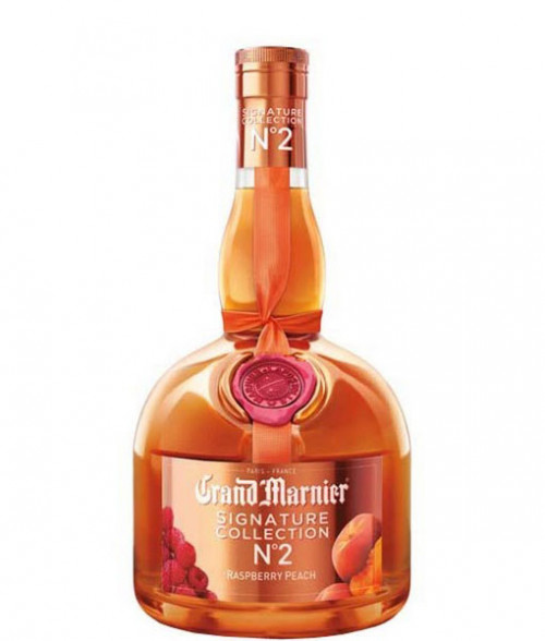 Grand Marnier Signature Collection No. 2 Raspberry Peach 750Ml