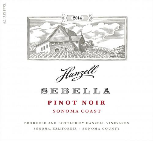 2014 Hanzell Sebella Pinot Noir 750ml