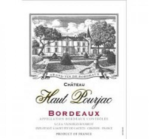 2018 Chateau Haut Pourjac Red 750ml