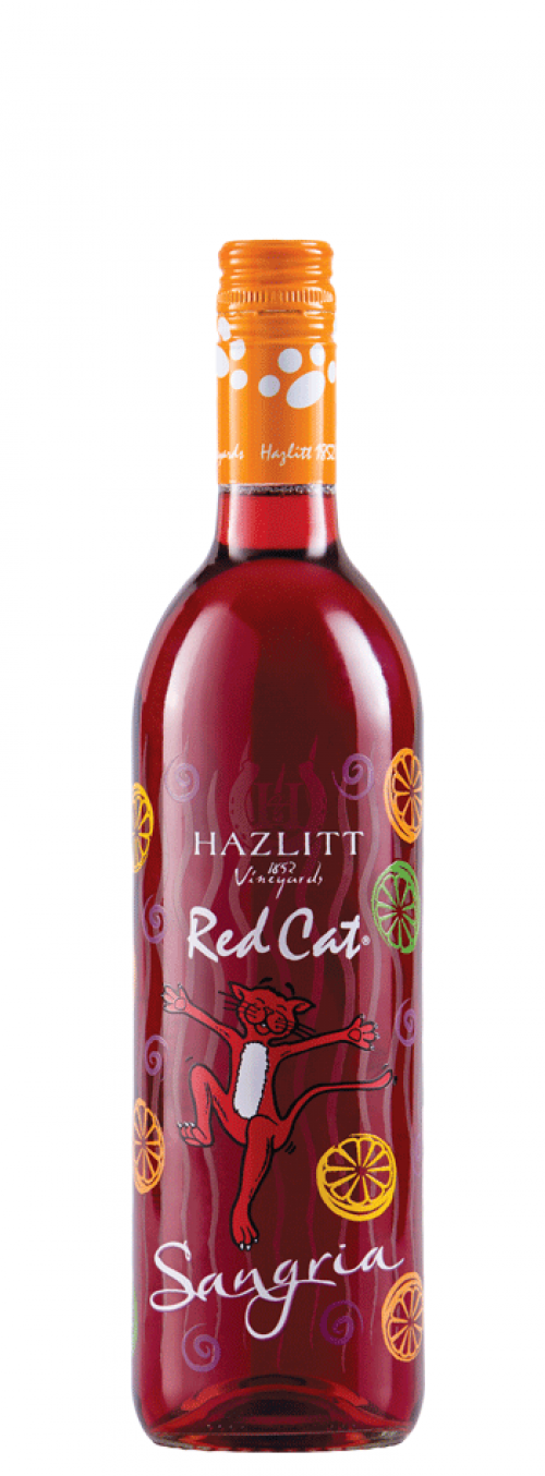 Hazlitt Red Cat Sangria 750ml NV