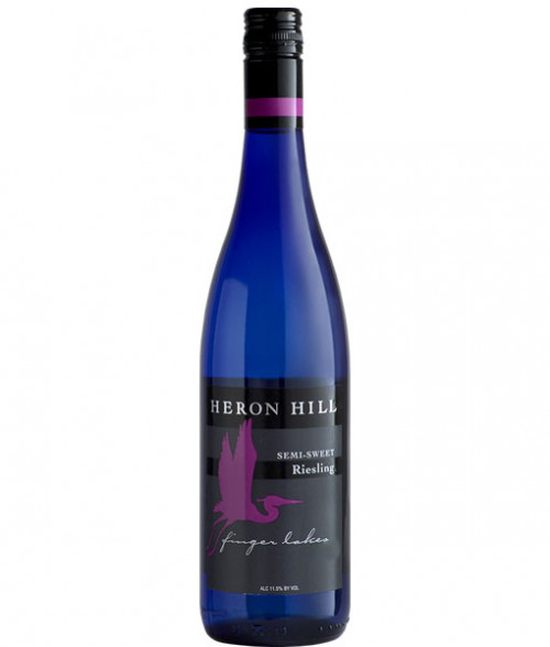 2017 Heron Hill Semi-Sweet Riesling 750Ml
