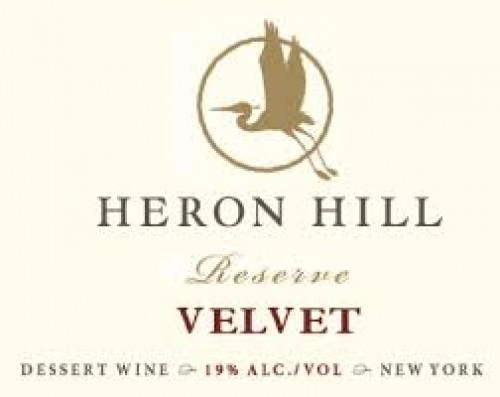 Heron Hill Reserve Velvet 375Ml NV