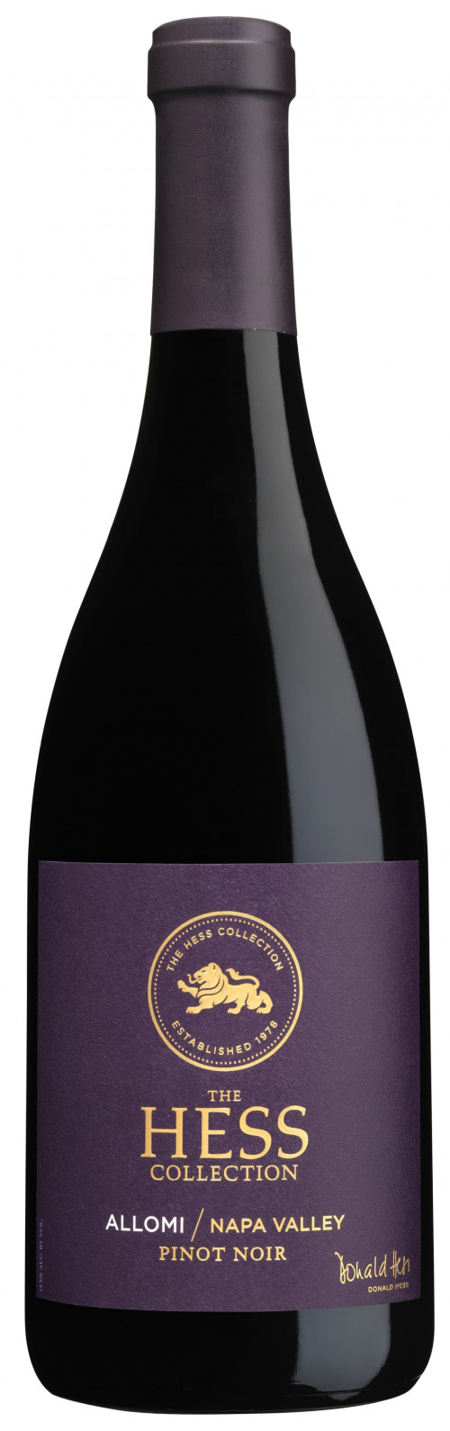 2019 Hess Allomi Napa Valley Pinot Noir 750ml
