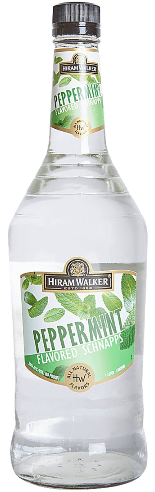 Hiram Walker Peppermint Schnapps 1L