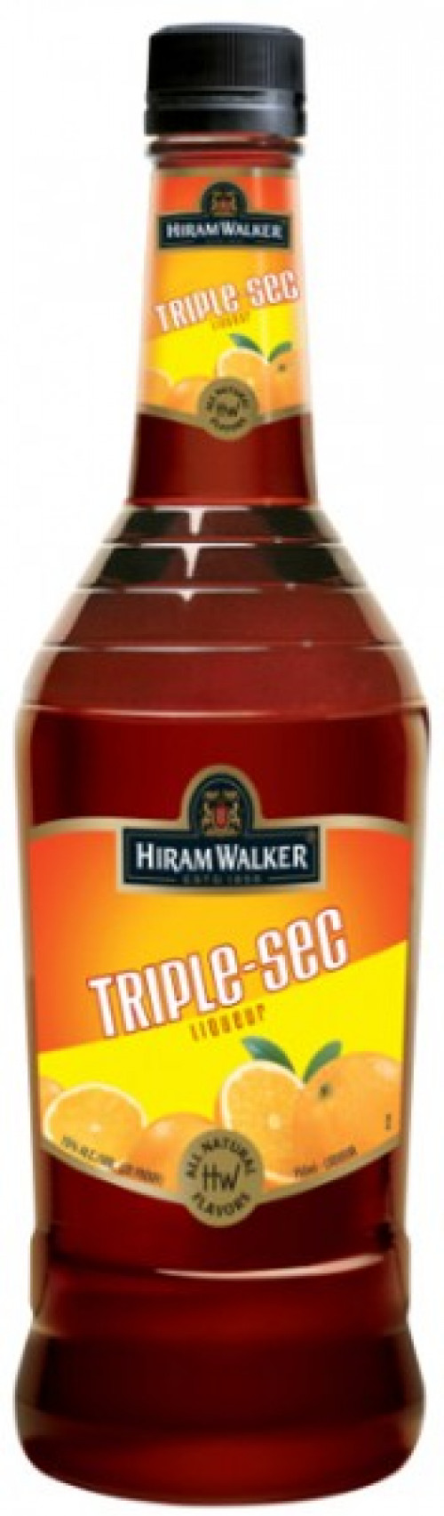 Hiram Walker Triple Sec 30 Proof 1L