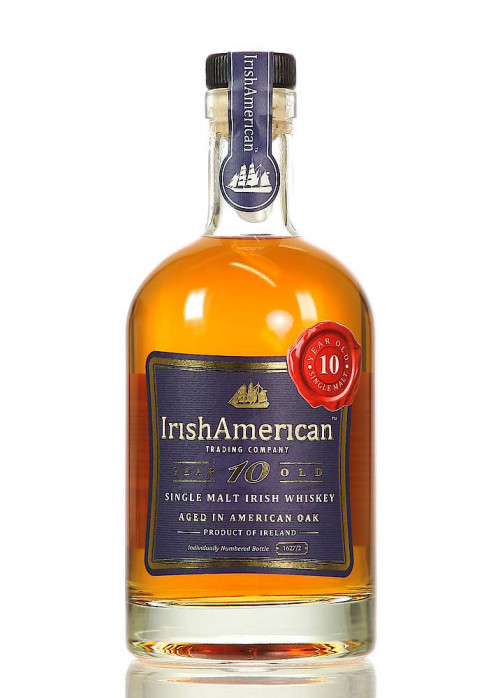 Irish American 10Yr Single Malt Irish Whiskey 750ml
