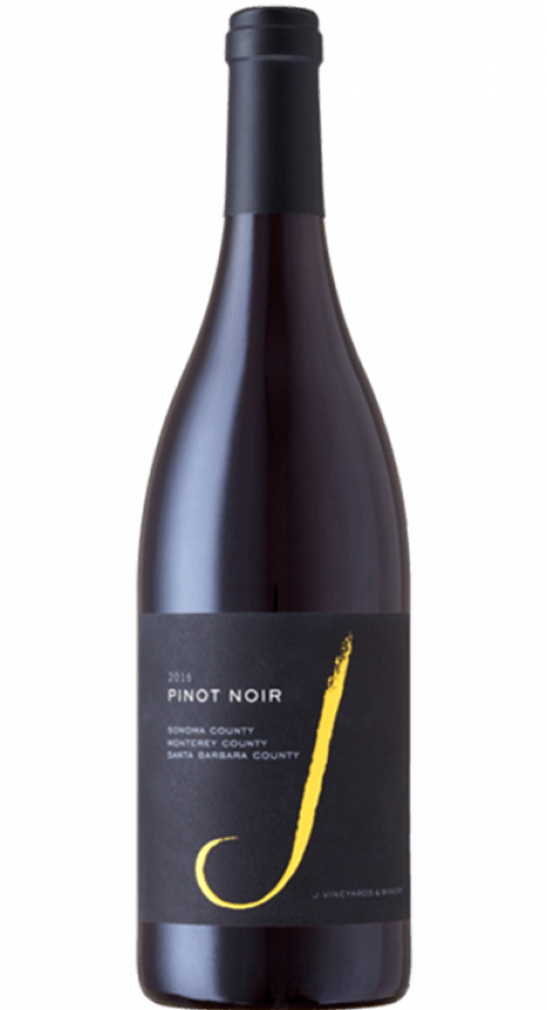 2017 J Vineyards Pinot Noir Multi-County 750ml