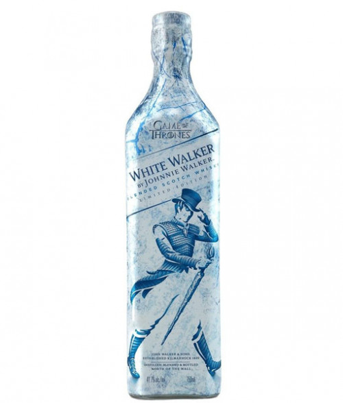 Johnnie Walker White Walker Label Blended Scotch 750ml
