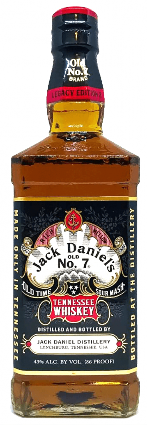 Jack Daniels Legacy Edition 2 Tennessee Whiskey 750ml