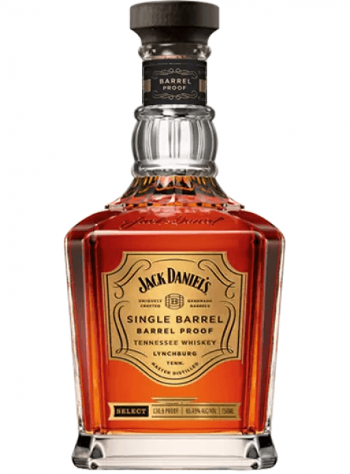 Jack Daniels Barrel Proof Single Barrel Whiskey 750Ml