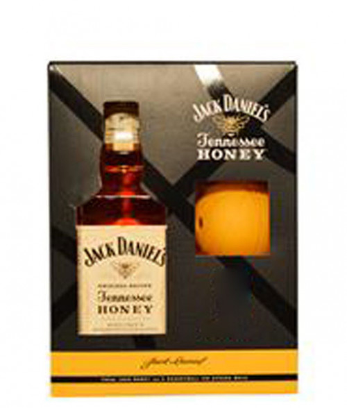 Jack Daniels Honey Gift Set w/ Ice Mold 750ml