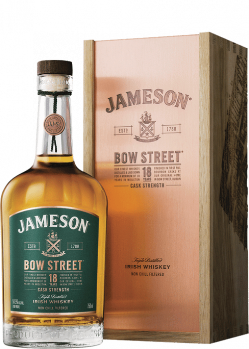 Jameson Bow Street 18Yr 750ml