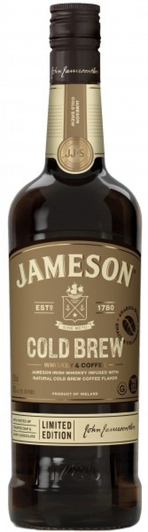 Jameson Cold Brew Infused Irish Whiskey 750Ml