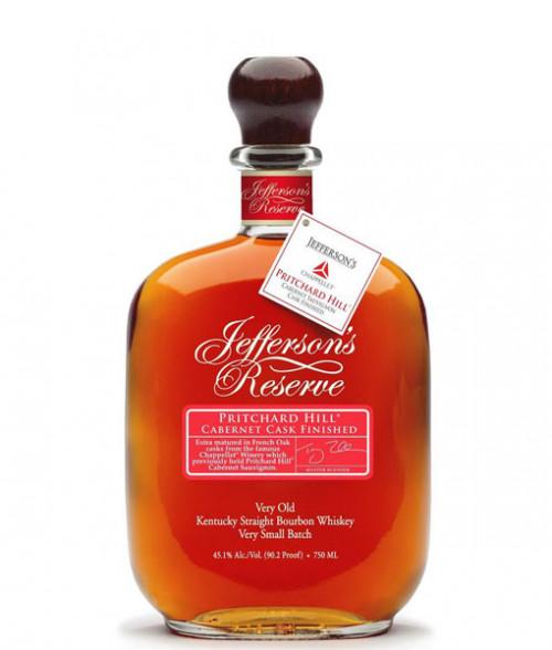 Jeffersons Reserve Pritchard Hill Cabernet Cask Bourbon 750Ml