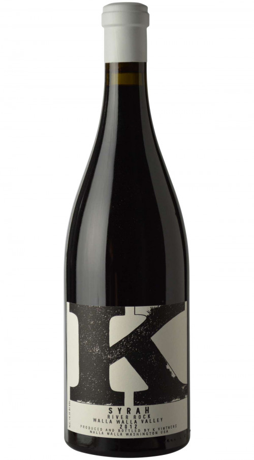 2015 K Vintners River Rock Syrah 750ml
