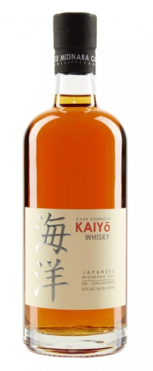 Kaiyo Cask Strength Japanese Whisky 750ml
