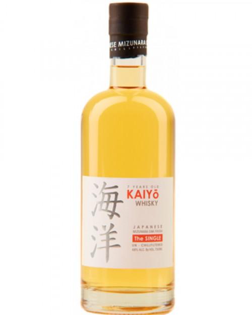"""Kaiyo """"The Single"""" 7Yr Mizunara Oak Japanese Whisky"""