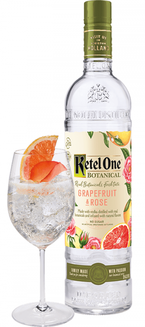 Ketel One Grapefruit & Rose 1L