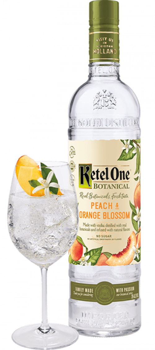 Ketel One 1L Peach & Orange