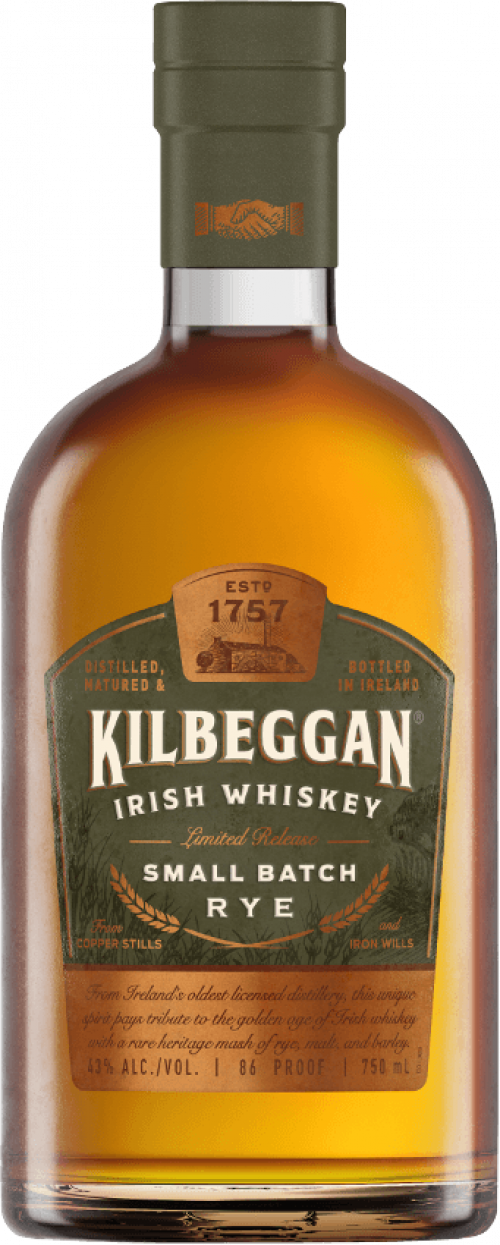 Kilbeggan Small Batch Rye 750ml