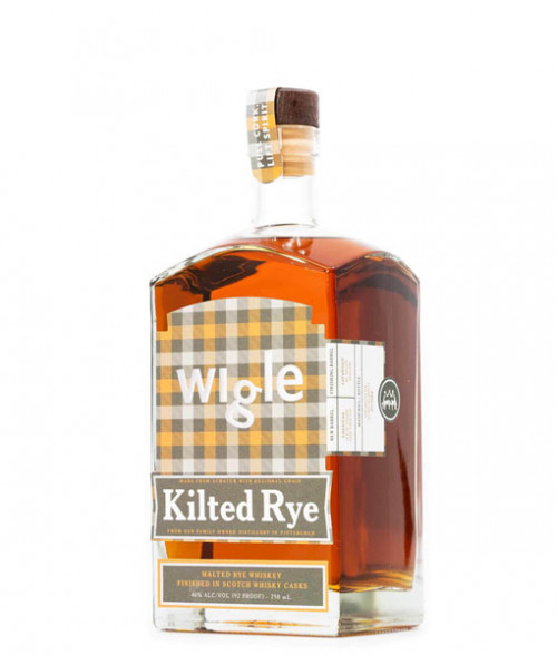 Wigle Kilted Rye Whiskey 750ml