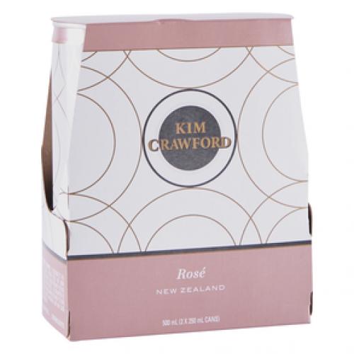 Kim Crawford Rose 2pk - 250ml Cans