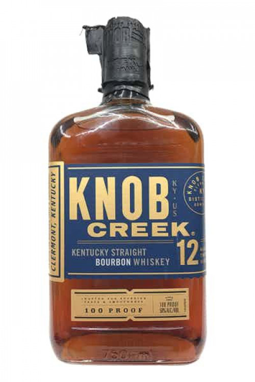 Knob Creek 12Yr 100 Proof Bourbon 750ml